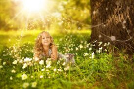 Çocuklarda Bach çiçek terapisi