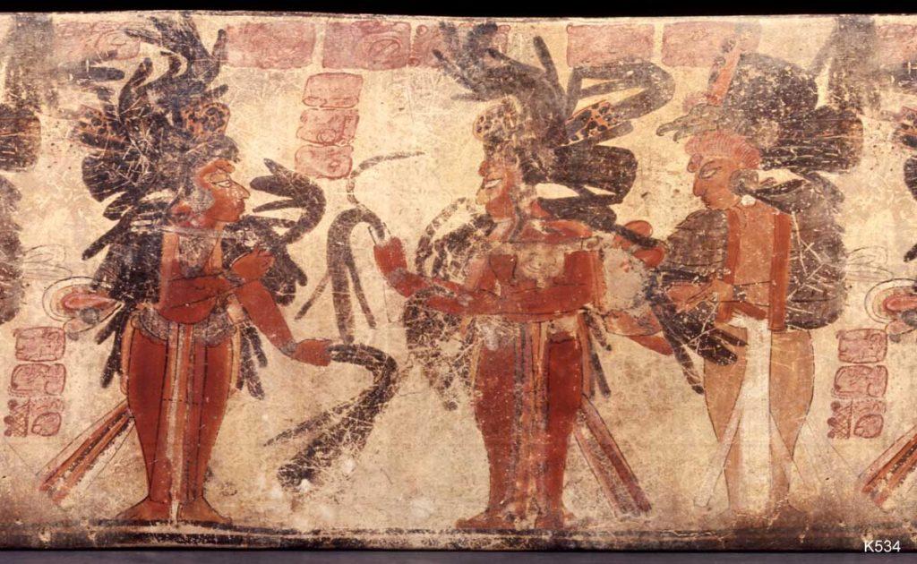 şaman kadın maya