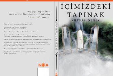 İçimizdeki Tapınak kitabı Goa yayıncılık farkıyla raflarda yerini aldı