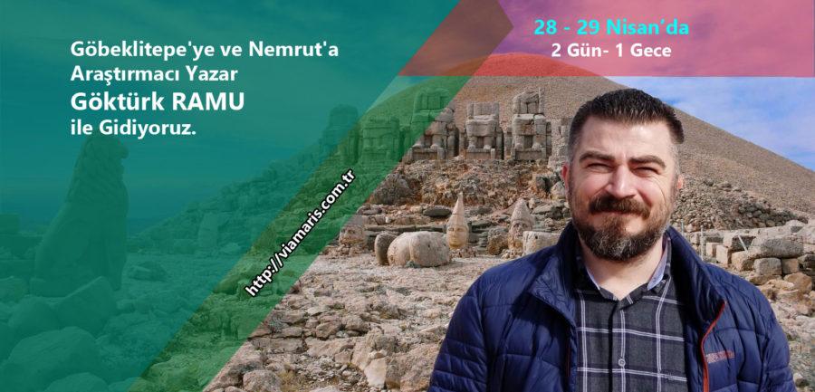 Araştırmacı Yazar Göktürk Ramu ile Göbeklitepe ve Nemrut Gezisi