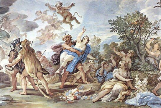 Yeraltı Dünyasının Tanrısı Hades Ve Bekçisi Kerberos