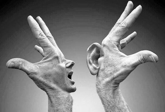 Dinliyor musun? Duyuyor musun? İşitiyor musun?