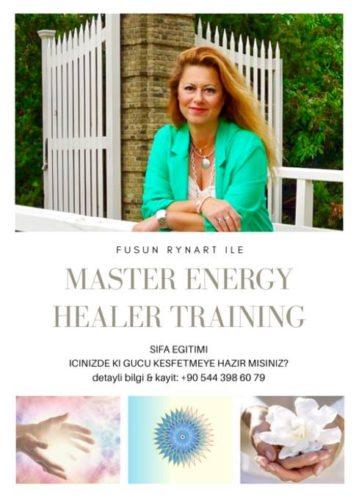 """Fusun Rynart ile Uluslararası Sertıfıkalı """"Master Energy Healer"""" eğitimi"""