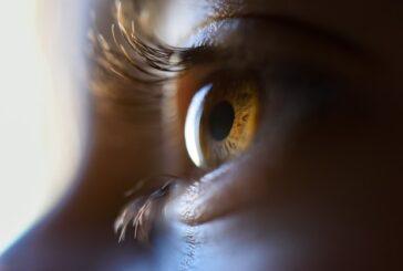 Gözünün penceresinden bakan kadın