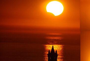 6 Ocak 2019 (Saros 122) Kısmı Güneş Tutulması Ve Yeni Ay