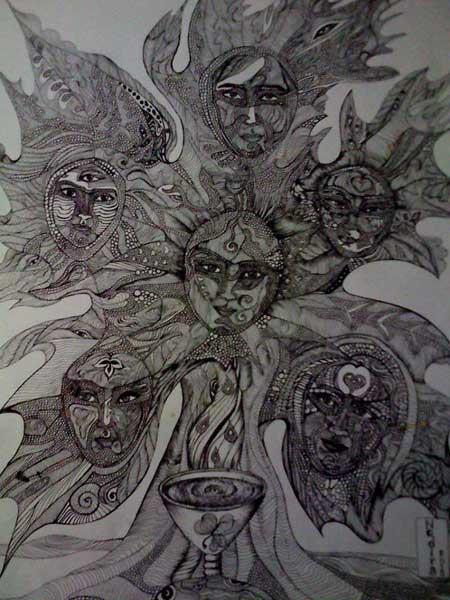 Tanrıları yemeği ve Bilgi Ağacı