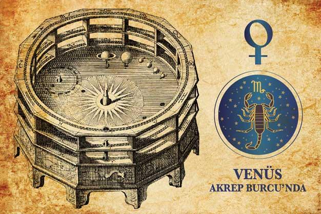 Cazibenin Dersi  - Venüs Akrep Burcu'nda