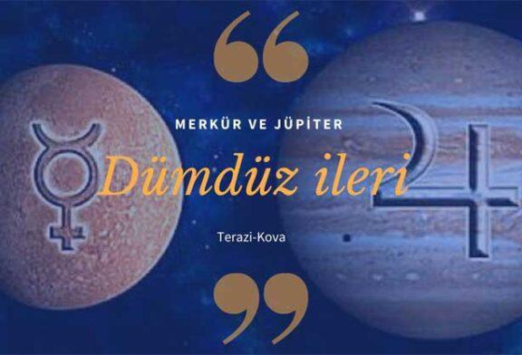 Merkür ve Jüpiter ileri gitmeye başlıyor