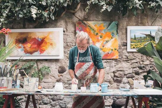 Sanat ile sanatçı arasındaki duvar benliğidir
