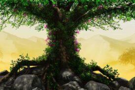Gücünü ağaçtan al, derdini ağaca as
