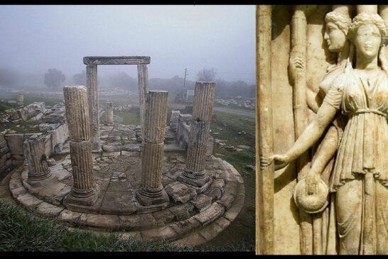 Lagina Antik'te büyü tanrıçası Hekate