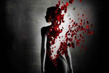 Güllerin içinden…