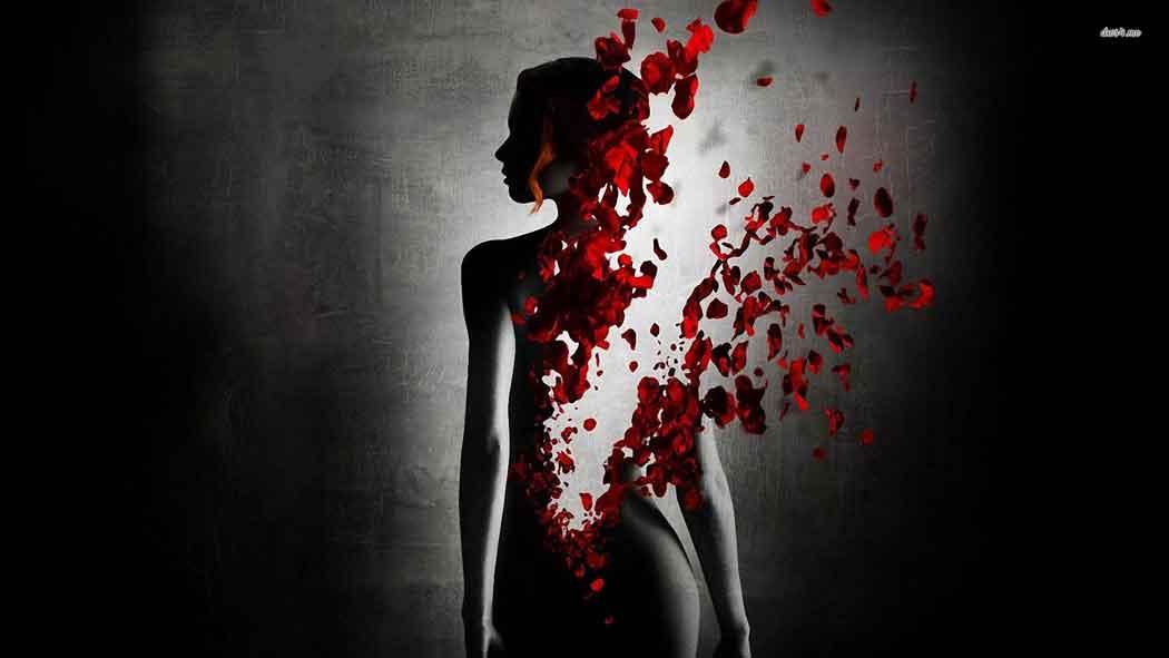 Güllerin içinden...